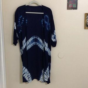 Tops - 💙Thai indigo dyed cover up